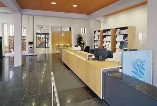 odeon architecten : interieur : Publiekswinkel Roermond