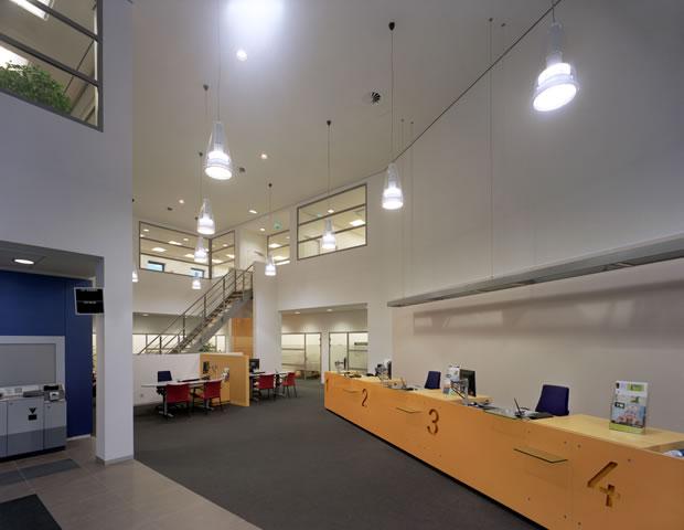 Odeon architecten interieur rabobank winkelcentrum for Interieur eindhoven