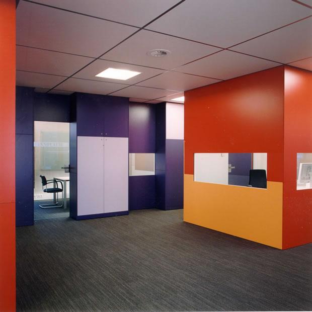 Odeon architecten interieur kamer van koophandel eindhoven for Interieur eindhoven